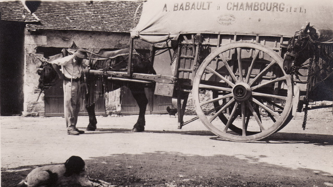1920 - Le chariot Babault