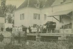 1904 ou 1907 - Moulin de l'Isle Auger - Baptême Germaine ou Jacqueline