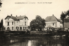 1939 - Carte postale Moulin-Isle-Auger
